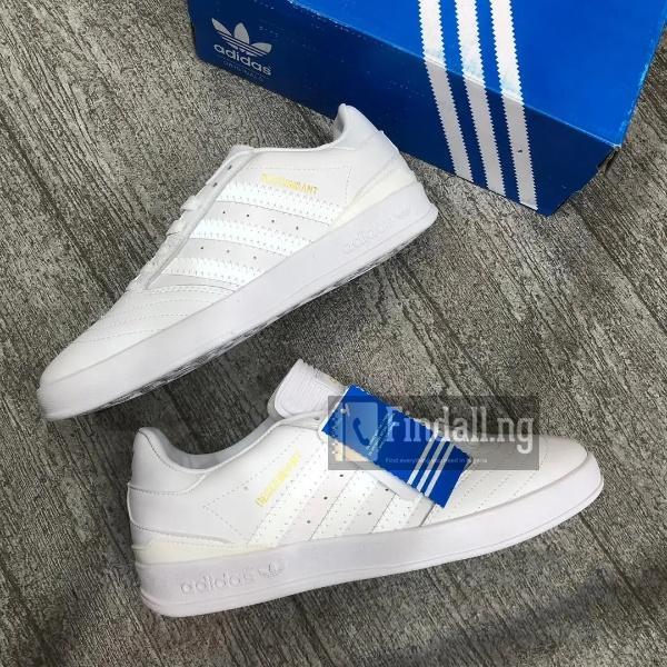 White Adidas Men's Sneakers