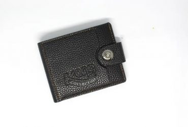 Kong Men's Leather Wallet – Black