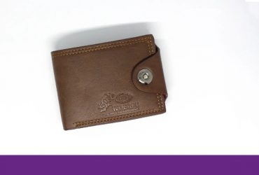 Men's Leather Wallet – Brown