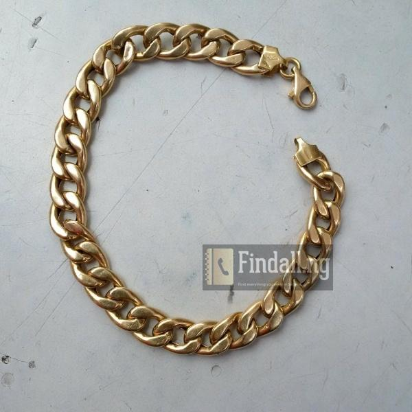 Pure 18krt Gold Bracelet Cuban Design