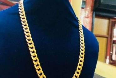 Pure 18karat Cuban Chain Is Available