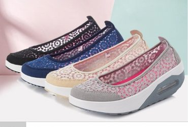 Lace Comfy Sneakers