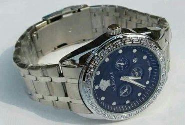 Versace Silver Chain Watch