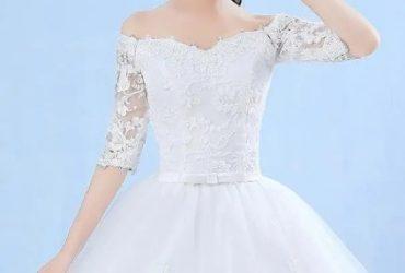 Classy Wedding Gown.