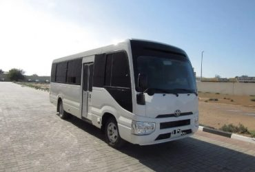 New Toyota Coaster 2019 White