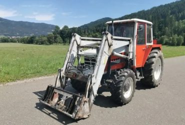 STEYR 8070 4-wd With Loader