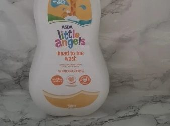 Asda Little Angels Head To Toe Wash 500ml