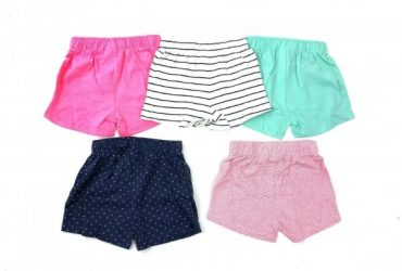 5pcs UK Girl's Short