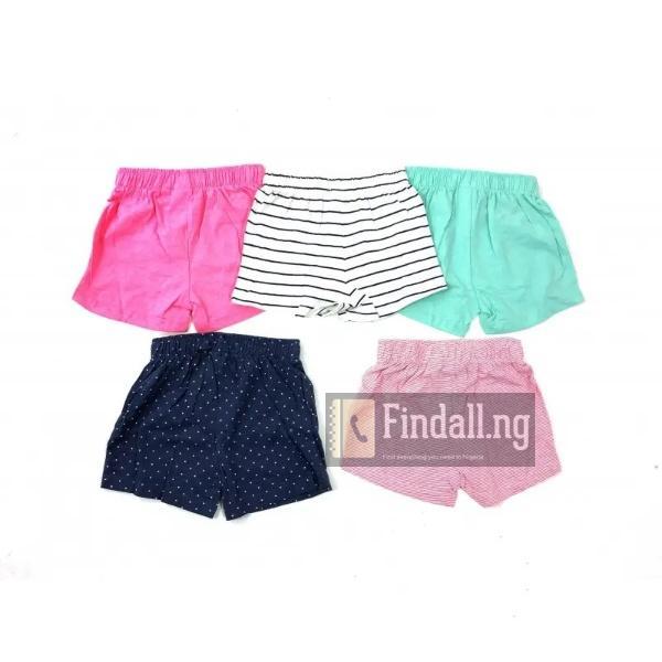 5pcs UK Girl's Short